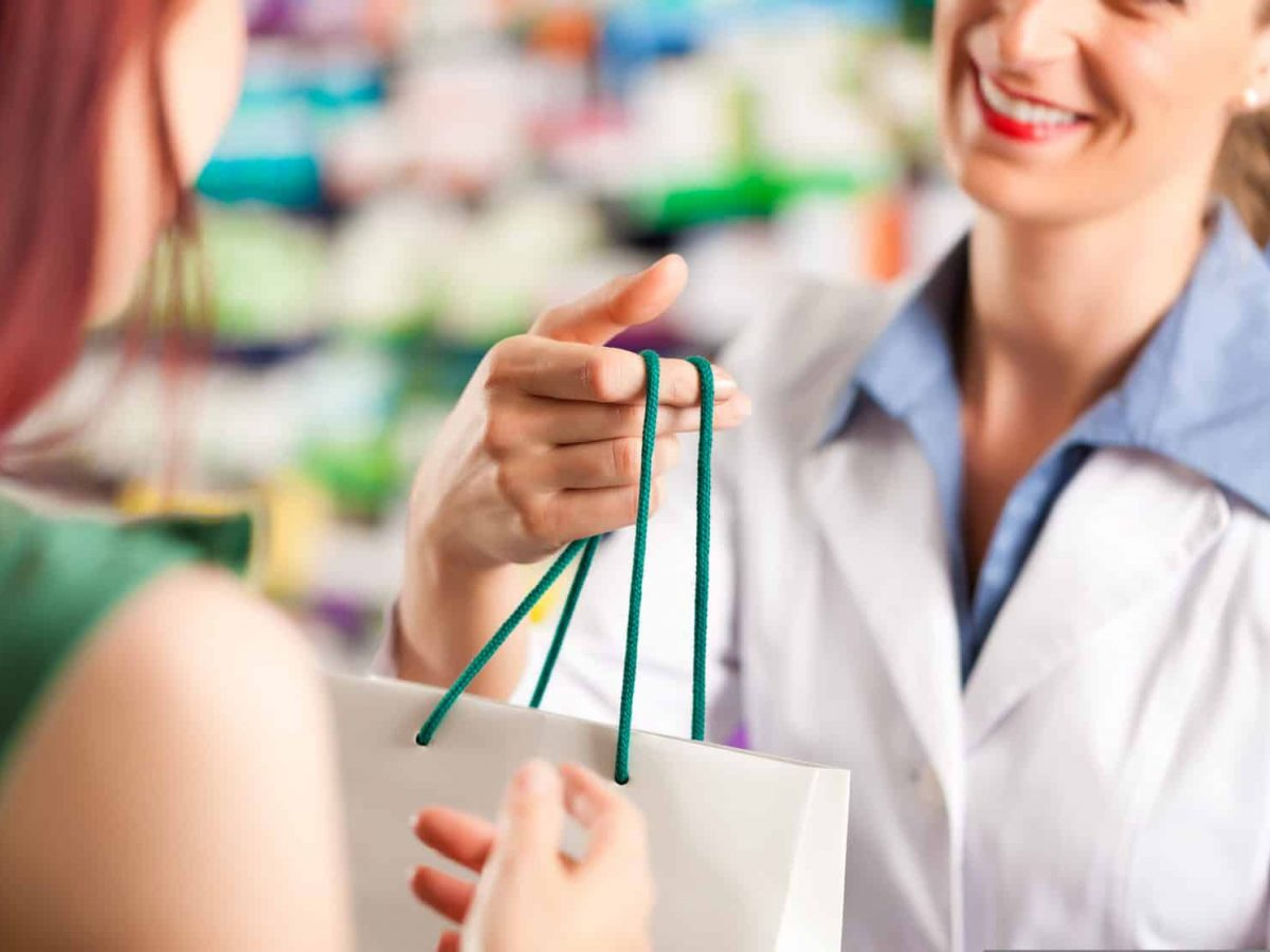 Female,Pharmacist,With,A,Female,Customer,In,Her,Pharmacy